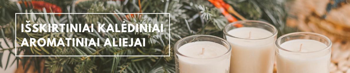 Išskirtiniai kalėdiniai aromatiniai aliejai