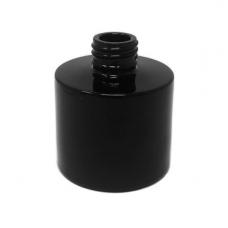 Namų kvapo buteliukas lygia juoda išore, 100 ml