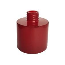 Namų kvapo buteliukas lygia raudona išore, 100 ml