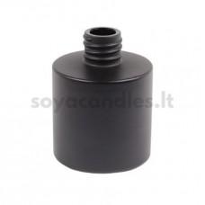 Namų kvapo buteliukas matine juoda išore, 100 ml