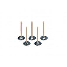 """Išvaškuota dagtis arbatinei žvakutei """"CDN (stabilo)"""", 2 dydis (iki 38 mm)"""