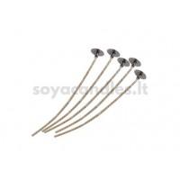 Išvaškuota medvilnės ir lino dagtis, 18 dydis (~75 mm)