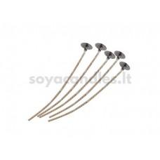 Išvaškuota medvilnės ir lino dagtis, 4 dydis (~40 mm)
