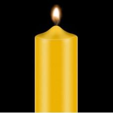 """Dažai žvakėms """"BEKRO"""", 10 g, aukso geltona"""