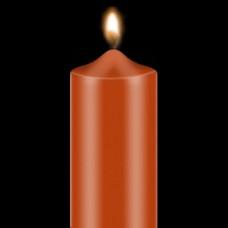 """Dažai žvakėms """"BEKRO"""", 10 g, raudonai oranžinė"""