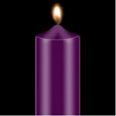 """Dažai žvakėms """"BEKRO"""", 10 g, violetinė"""
