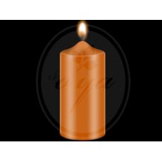 """Dažai žvakėms """"BEKRO"""", 10 g, oranžinė"""