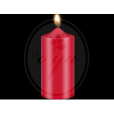 """Dažai žvakėms """"BEKRO"""", 10 g, raudona"""