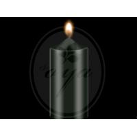 """Dažai žvakėms """"BEKRO"""", 10 g, juoda"""