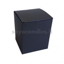 Dėžutė, 82x82x98 mm, matinė juoda