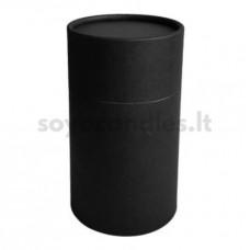 Kartono dėžutė su dangteliu, matinė juoda 73x112 mm