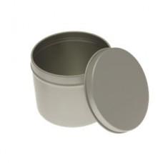 Didelis aliuminio indelis su dangteliu, 200 ml