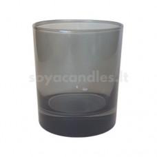 Stiklinė dūmine pilka išore, 300 ml