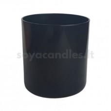 Stiklinė lygia juoda išore EVA, 300 ml