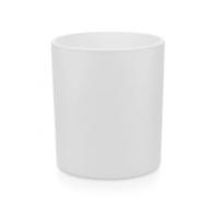 Stiklinė matine balta išore, 200 ml