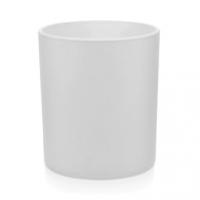 Stiklinė matine balta išore, 300 ml