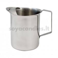 Metalinis vaško lydymo indas su snapeliu, 2 l
