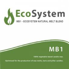 EcoSystem MB1 augalinis vaškas, 1 kg