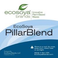 EcoSoya Brands Pillar Blend sojų vaškas, 1 kg
