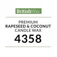 Rapsų ir kokosų vaškas 4358, 500 g
