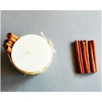 Sojų vaško žvakė su cinamonu ir vanile, 250 ml