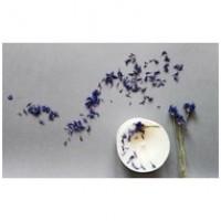 Sojų vaško žvakė su levandomis, aguonų sėklomis ir levandų aromatu, 250 ml